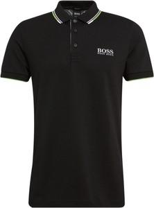 Czarna koszulka polo Boss