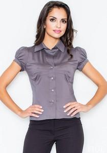 Fioletowa koszula Figl