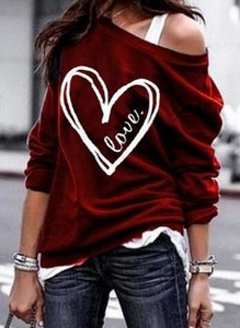 Czerwona bluzka Sandbella