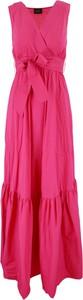 Różowa sukienka Liu-Jo
