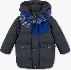 Niebieska kurtka dziecięca Baby Club z plaru