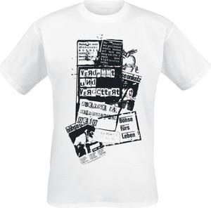 T-shirt Böhse Onkelz z bawełny z krótkim rękawem