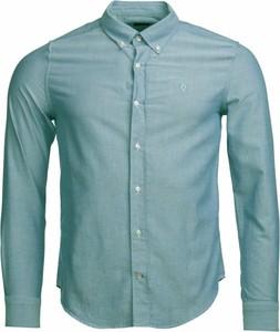 Niebieska koszula Barbour z długim rękawem