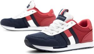 Buty sportowe dziecięce Tommy Hilfiger z zamszu sznurowane