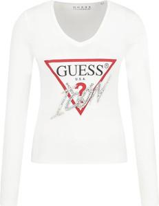 Bluzka Guess Jeans w młodzieżowym stylu