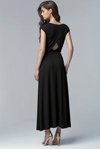Czarna sukienka Merg maxi