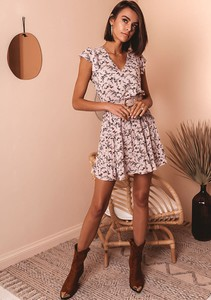 Sukienka Latika mini wyszczuplająca