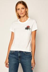 T-shirt Converse z okrągłym dekoltem z krótkim rękawem