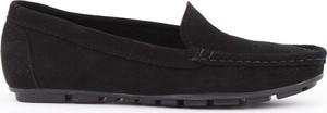 Zapato mokasyny - skóra naturalna - model 001 - kolor czarny