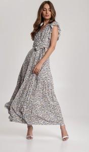 Sukienka Renee bez rękawów z dekoltem w kształcie litery v w stylu boho