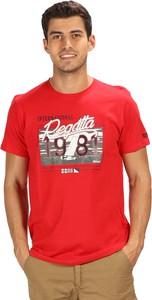 T-shirt Regatta w sportowym stylu z bawełny