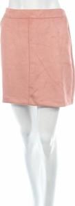 Różowa spódnica Vero Moda mini