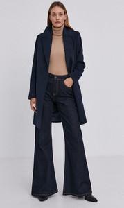 Granatowy płaszcz Answear Lab