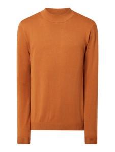 Pomarańczowy sweter Jack & Jones z bawełny