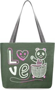 7b1b4f5a0d031 płócienna torba na zakupy - stylowo i modnie z Allani