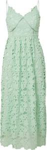 Zielona sukienka Y.A.S na ramiączkach