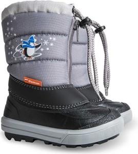 Buty dziecięce zimowe Demar sznurowane dla chłopców