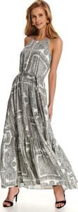 Sukienka Top Secret maxi z dekoltem w kształcie litery v