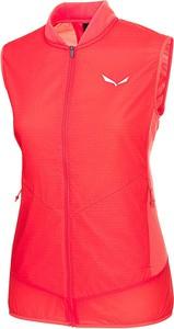 Czerwona kamizelka Salewa w stylu casual