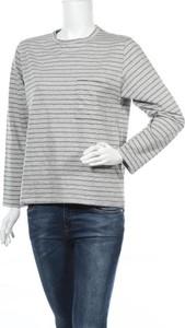 Bluzka April 77 z okrągłym dekoltem z długim rękawem w stylu casual
