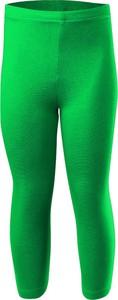 Zielone legginsy dziecięce Rennwear