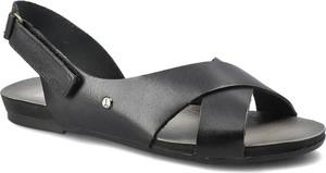 Sandały Lemar z płaską podeszwą na rzepy