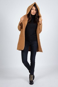 Płaszcz Curvy Lady w stylu casual