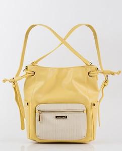 Żółta torebka Monnari średnia w wakacyjnym stylu