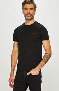 Czarny t-shirt POLO RALPH LAUREN z bawełny