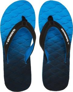 Niebieskie buty letnie męskie Quiksilver z tkaniny
