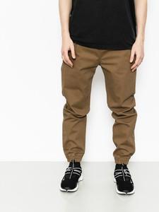 Brązowe spodnie Massdnm z bawełny