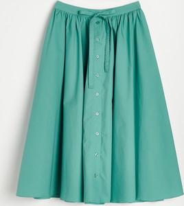 Spódnica Reserved midi z bawełny