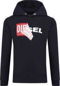 Czarna bluza dziecięca Diesel