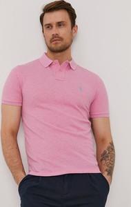 Koszulka polo POLO RALPH LAUREN z krótkim rękawem w stylu casual