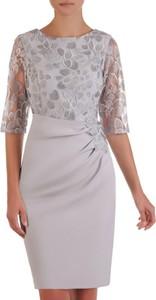 Sukienka POLSKA z długim rękawem