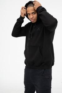 Czarna bluza Point X w młodzieżowym stylu