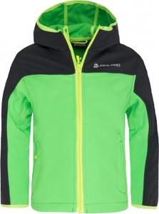 Zielona kurtka dziecięca Alpine Pro
