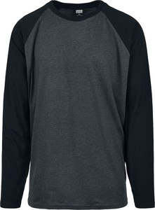 T-shirt Emp z długim rękawem z bawełny