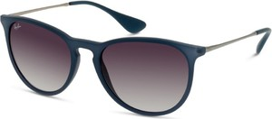 Granatowe okulary damskie Ray-ban-polarized