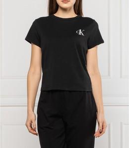 T-shirt Calvin Klein Underwear z krótkim rękawem w stylu casual z okrągłym dekoltem