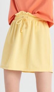Żółta spódnica Sinsay