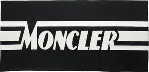 Czarny szalik dziecięcy Moncler