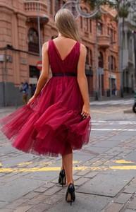 Czerwona sukienka Emo Sukienki