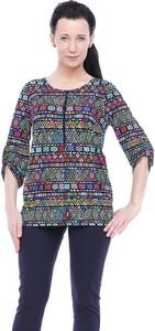 Bluzka Top-Bis z długim rękawem z okrągłym dekoltem