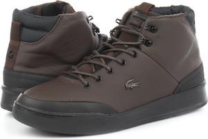 Buty zimowe Lacoste sznurowane
