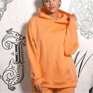 Pomarańczowa bluza Dreskod