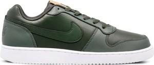 Zielone trampki Nike sznurowane
