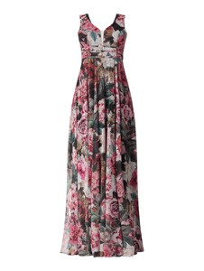 Sukienka Troyden Collection maxi z szyfonu w stylu boho