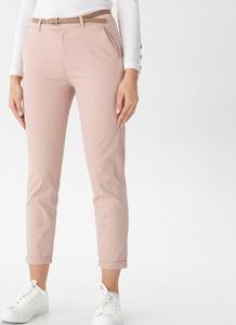 Różowe spodnie House w stylu casual