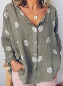 Koszula Cikelly z długim rękawem w stylu casual